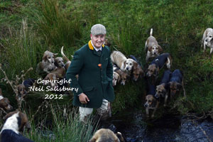 Beagles and their huntsman by Betty Fold Gallery Photography Hawkshead Hill Cumbria