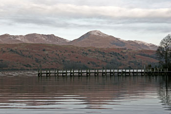 Coniston from east of lake Images of Lakeland