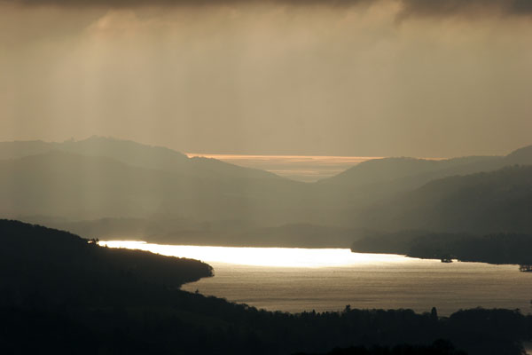 Winter light over Windermere