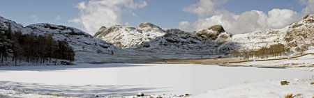 Lakeland Images snow scene Blea Tarn by Neil Salisbury