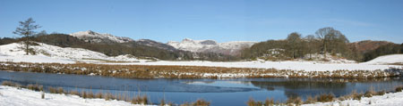 Lake District Image Elterwater panorama by Neil Salisbury