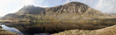 Stickle Tarn panorama Images of Lakeland by Betty Fold Gallery