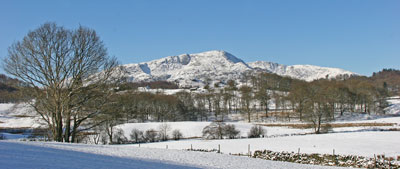 Lakeland Images Elterwater snow scene by Neil Salisbury