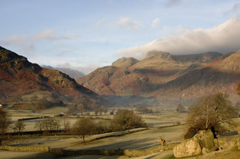 Image of Lakeland Great Langdale valley by Neil Salisbury