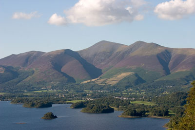 Skiddaw and Derwent Water by Neil Salisbury